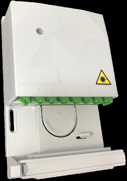 Caixa de Distribuição Óptica Interna de Andar - CDOIA-8