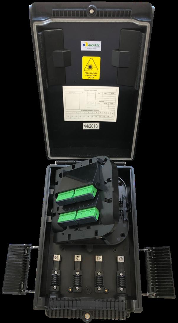 Caixa de Distribuição Óptica Externa Conectorizada - CDOE-C